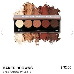 BRAND NEW baked browns palette